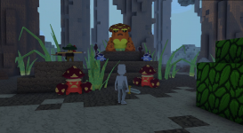 Early Screenshot: Enemies
